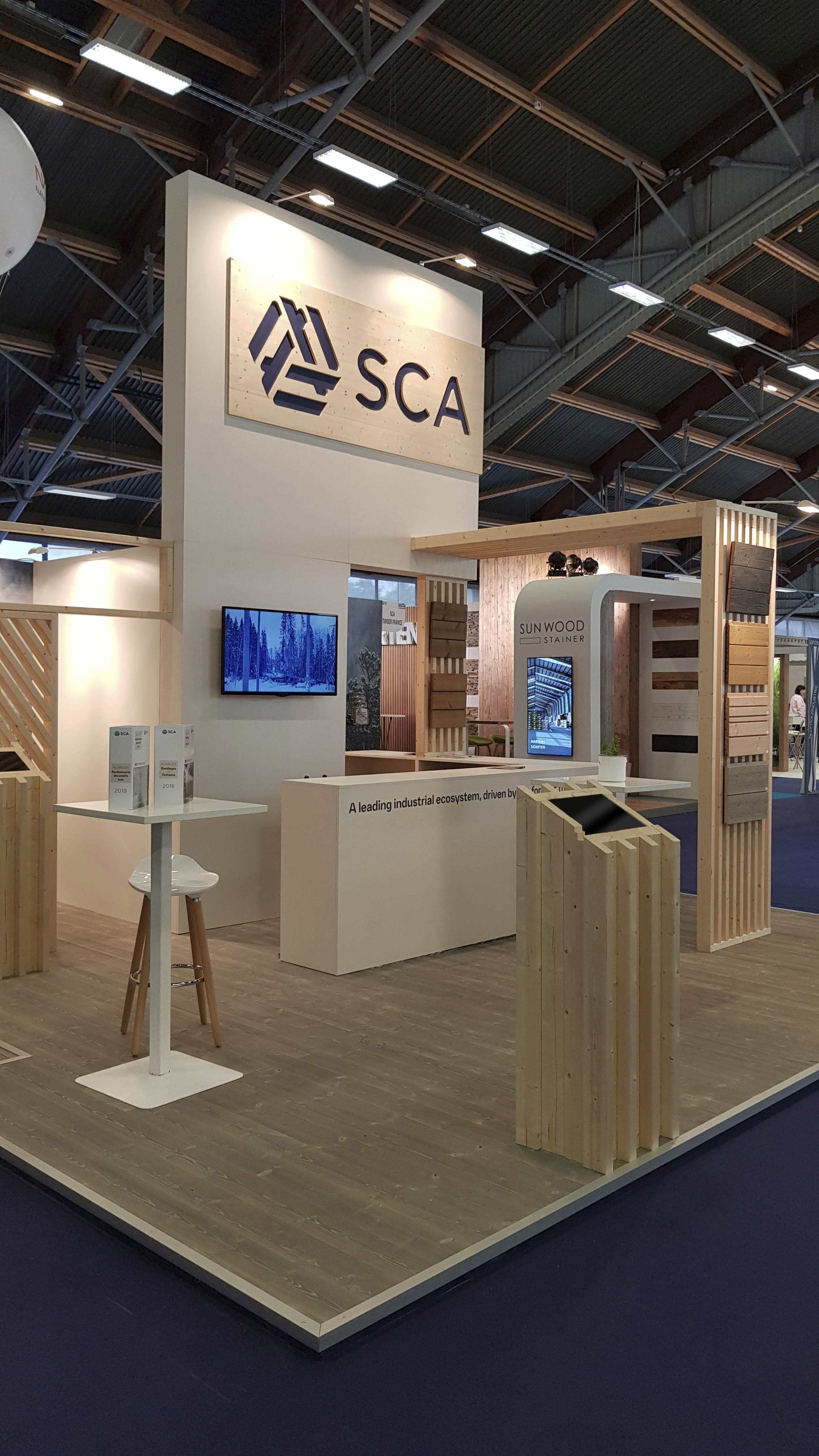 SCA stand at CIB 2018