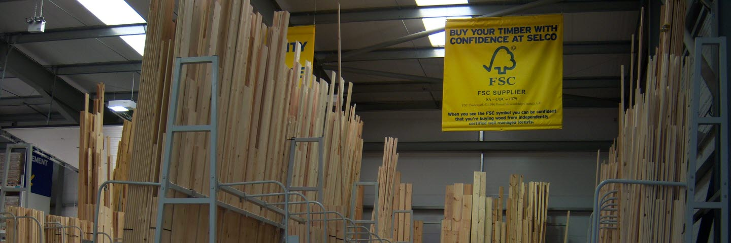 Solid wood products in Great Britain from SCA Timber, SCA Forest Products.